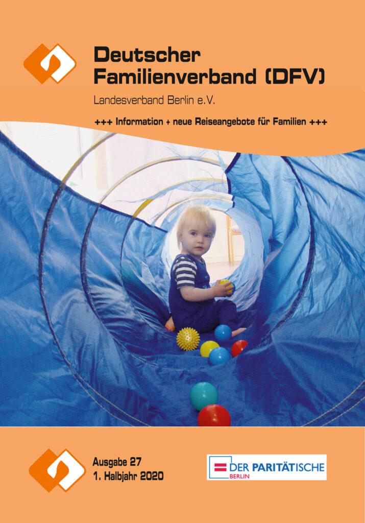 Deutscher Familienverband Berlin Programm 1. Halbjahr 2020